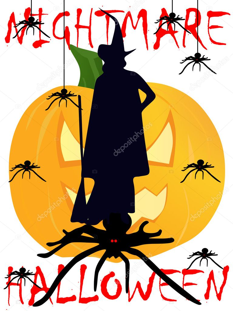 Halloween background with details for halloween night — Stock Vector #6471003