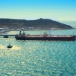 Stok fotoğraf: Tanker Loading Oil In SePort