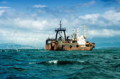 Fishing Ship — Stock Photo