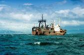 Gemi balıkçılık — Stok fotoğraf