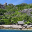 Grand Soer, a paradise island in Indian ocean, Seychelles — Stockfoto