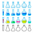 Chemical Science Equipment — Stock Vector #6377940