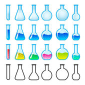 Chemical Science Equipment — Stock Vector