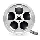Réaliste bobine de film — Vecteur