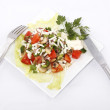 Stock Photo: Mixed vegetable salad