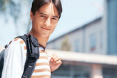 Smiling student — Stock Photo