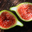 Stock Photo: Fresh Green Figs