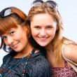 Beautiful young women posing — Stock Photo