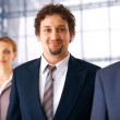 Businessman With Colleagues. — Stock Photo