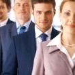 Stockfoto: Closeup of Businessman With Colleagues.