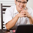 Working asian entrepreneur — Stock Photo