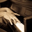 Playing piano — Stock Photo #5453640