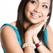 Stock Photo: Happy beautiful asian woman
