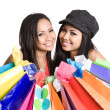 Shopping asigirl — Stock Photo #5453735