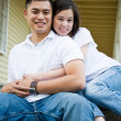 Happy asian couple — Stock Photo #5453780