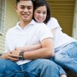 Royalty-Free Stock Photo: Happy asian couple
