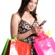 Shopping asian woman — Stock Photo #5453795
