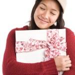 Asian valentine girl — Stock Photo #5454496