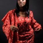 Beautiful traditional woman — Stock Photo #5454557