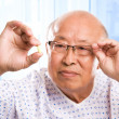 Elderly asian healthcare — Stock Photo #5454797