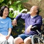 Senior asian couple — Stock Photo #5454810