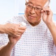 Senior asian healthcare - Stockfoto