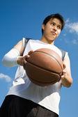 Giocatore di pallacanestro asiatiche — Foto Stock