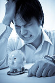 Financial hardship — Stock Photo