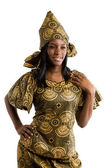 Beautiful african woman — Stock Photo