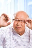 Elderly asian healthcare — Stock Photo