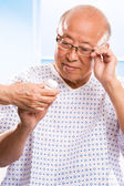 Senior asian healthcare — Stock Photo