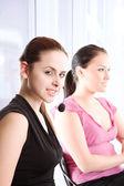 Working businesswomen — Stock Photo