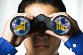 Business vision — Stockfoto