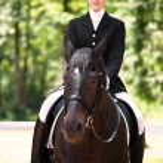 Horseback riding girl — Stock Photo #5567218