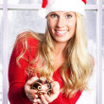 Christmas girl — Stock Photo #5567393