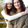 Royalty-Free Stock Photo: Mother and daughter