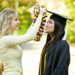 fille de graduation — Photo