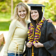 Graduation girl — Stockfoto