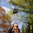 Royalty-Free Stock Photo: Happy graduation girl