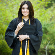 Stock Photo: Graduation girl