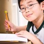 Studying kid — Stock Photo