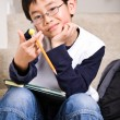 Stock Photo: Young student