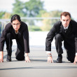Business in competition - Stock Photo