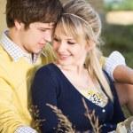 Caucasian couple in love — Stock Photo #5568000