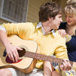 Caucasian couple in love - Stockfoto