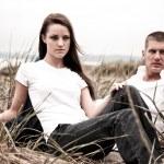 白种人夫妇 — 图库照片