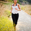 Sporty running woman — Stock Photo #5568329