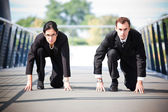 Business in competition — Stock Photo