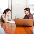 Working businesswomen - Stock Photo