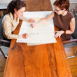 Working businesswomen — Foto Stock